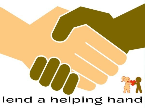 Imgs For u0026gt; Lend A Helping Hand Clipart