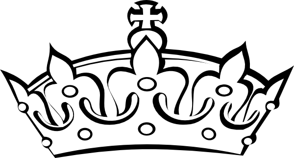 Imgs For Simple Queen Crown D - Crown Outline Clip Art