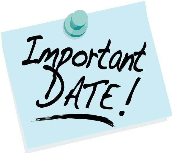 Important Mark Your Calendar Clipart