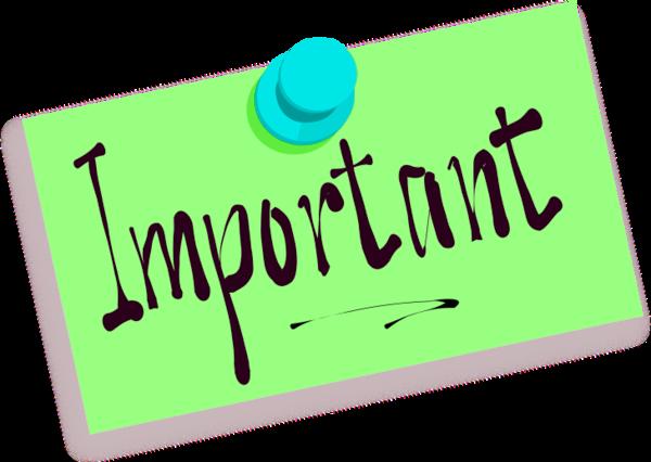 Important Points Free Clipart - Important Clip Art