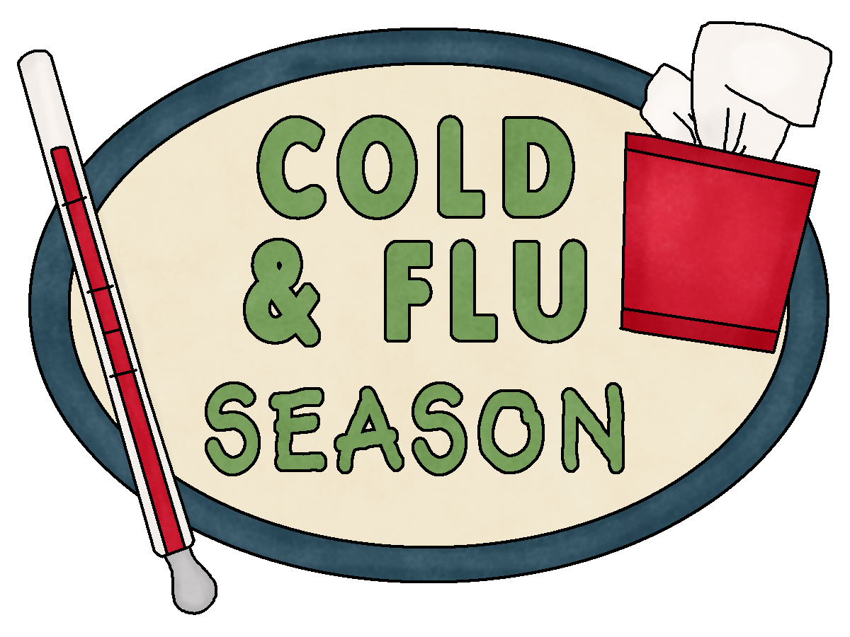 In Full Swing How Many Of You - Flu Clip Art