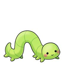Inchworm More Inchworm Cartoon Caterpillar Kawaii Clipart Cartoon Worm