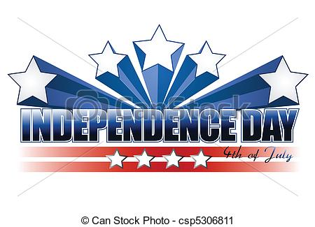 ... independence day sign iso - Independence Day Clip Art