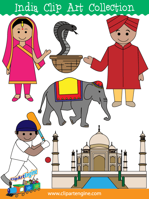 India Clip Art Collection-India Clip Art Collection-2
