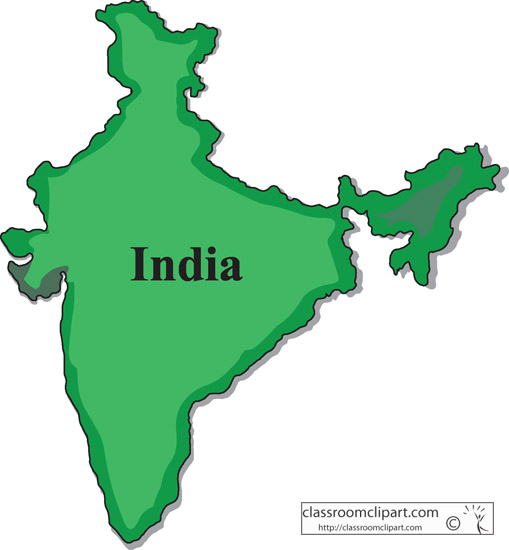 India India Map 1004 Classroom Clipart-India India Map 1004 Classroom Clipart-7