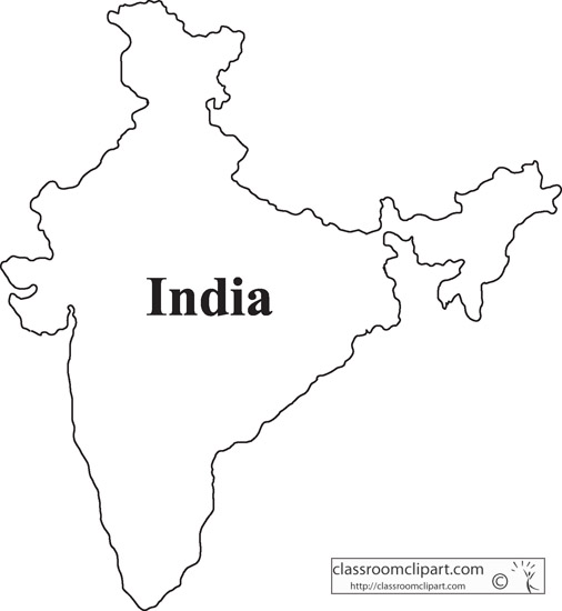 India Map Clipart #1-India Map Clipart #1-14