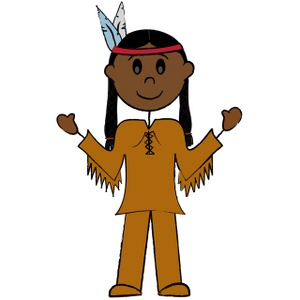 Native American People Clipar