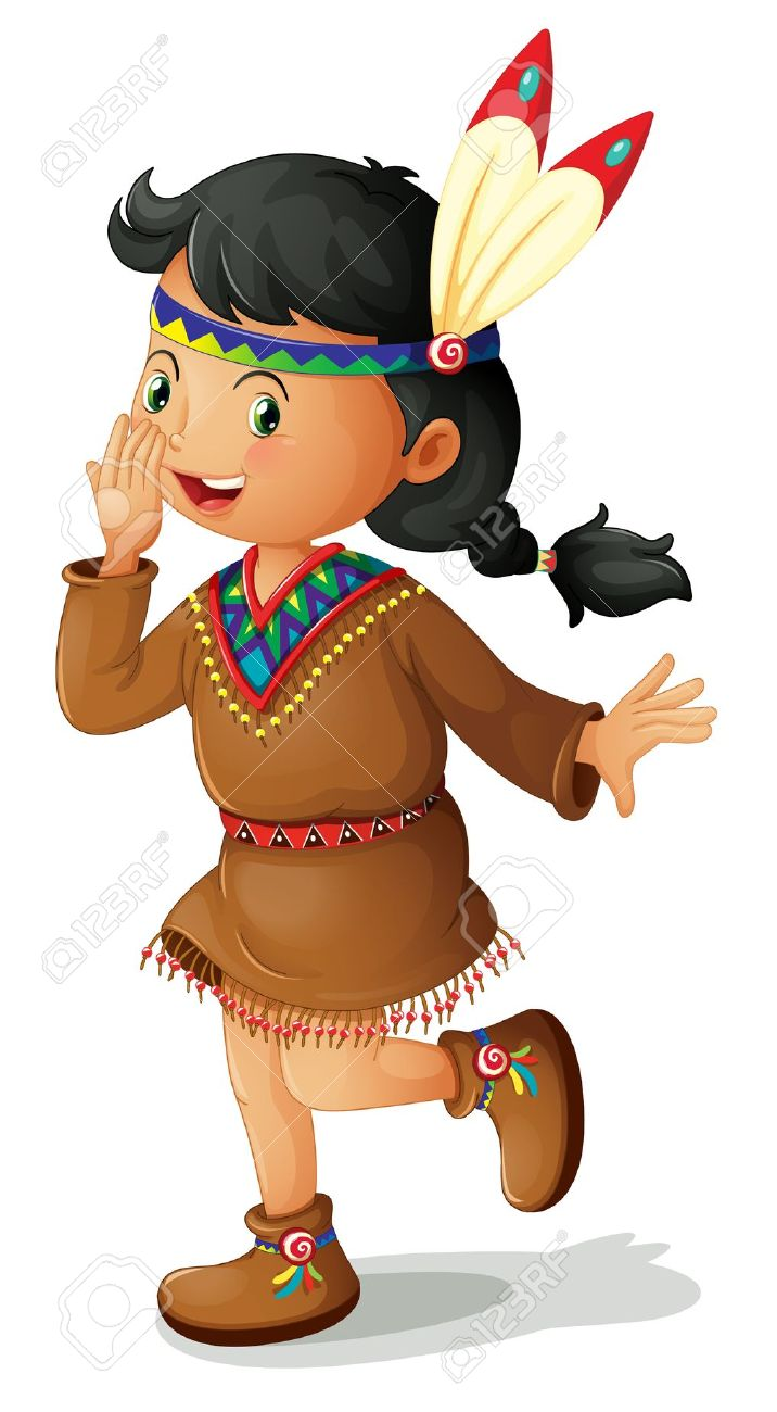 Indian clipart 7