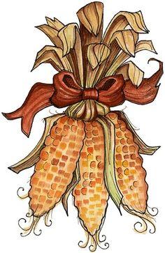 Indian corn - Indian Corn Clipart
