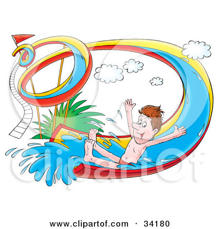 Indoor Water Park Clip Art
