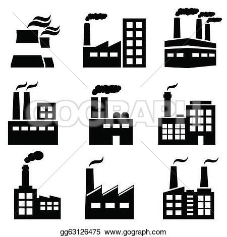 ... Industrial building, factory and power plants