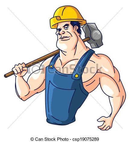 industrial worker - csp19075289