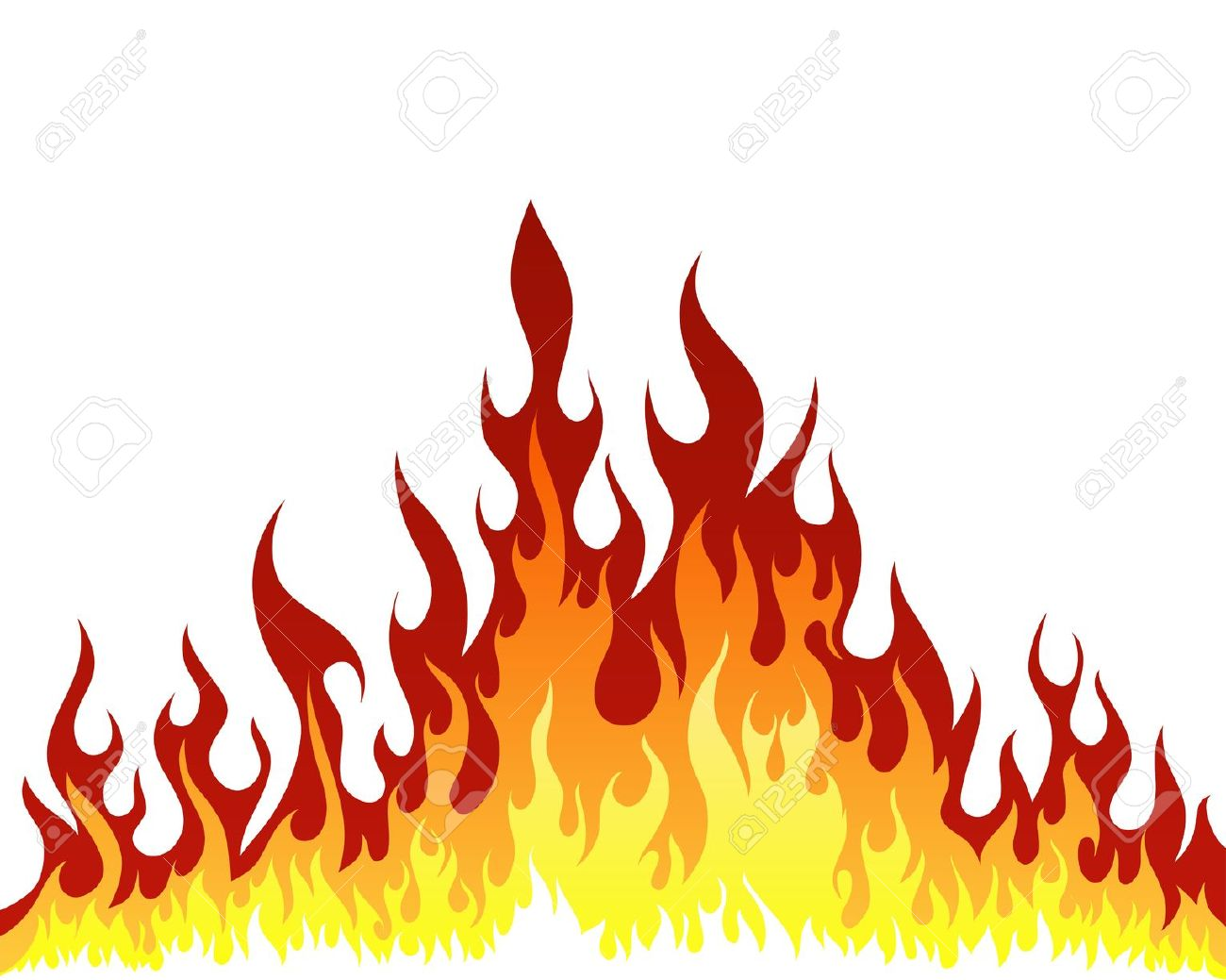 Inferno Fire Vector Background .-Inferno fire vector background .-15