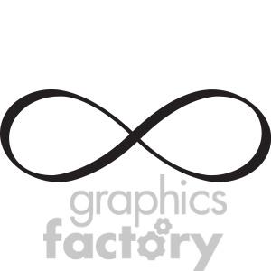 Infinity Symbol Vector Design-Infinity Symbol Vector Design-4