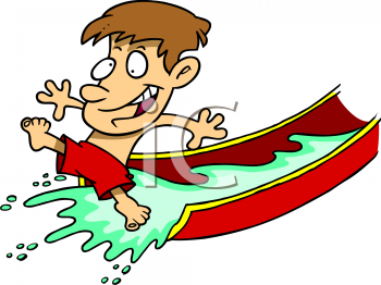 Inflatable Water Slide Clipart-inflatable water slide clipart-1