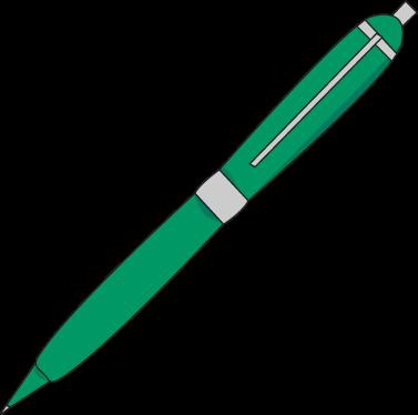 Ink Pen Clip Art Image Green Clipart Panda Free Clipart Images