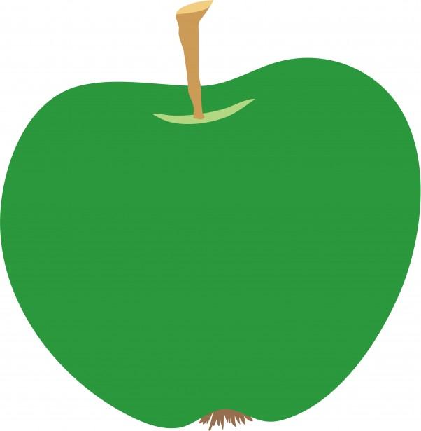 Inn Trending » Green Apple Clip Art