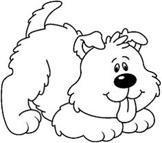 「innocent white dog clipart」 .