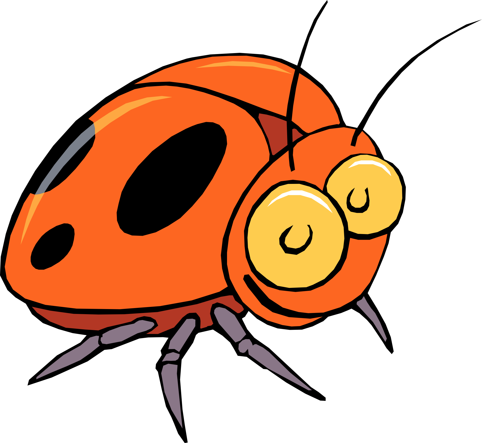 Insect Clipart Kid 3-Insect clipart kid 3-15