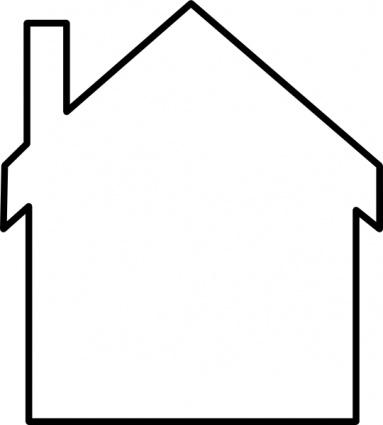 inside house clipart black and white-inside house clipart black and white-16