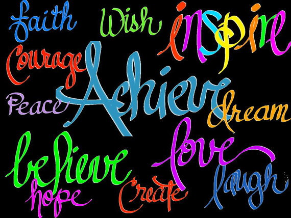 Inspirational Quotes Clip Art. .