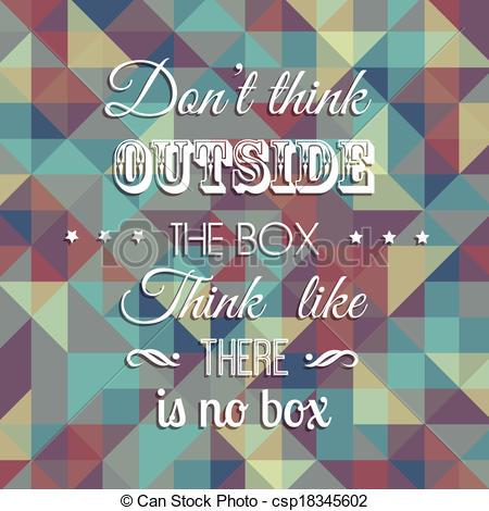 Inspirational quote background - csp18345602