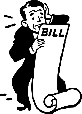 Insurance Bill Clipart #1