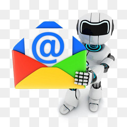 intel colorful messages, Envelope, Mail, Robot PNG Image and Clipart