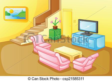 Interior Of A House Living Room - Csp215-Interior of a house living room - csp21585311-4