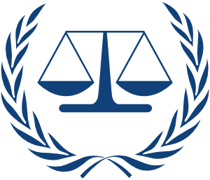 International Criminal Court Logo clip art - vector clip art .