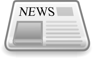 Internet News Reader Clip Art