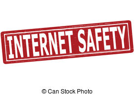 ... Internet safety - Stamp w - Internet Safety Clipart