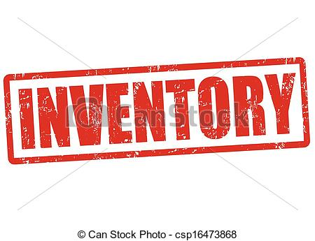 ... Inventory stamp - Inventory grunge rubber stamp on white,.