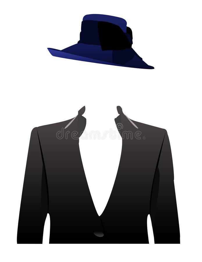 An Illustration Of A Faceless Woman In A-An illustration of a faceless woman in a business attire concept-1