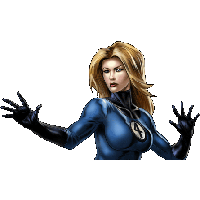 Invisible Woman Png Clipart PNG Image