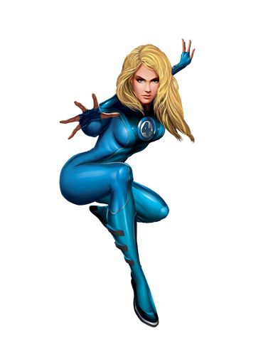 Invisible Woman Transparent PNG Image-Invisible Woman Transparent PNG Image-17