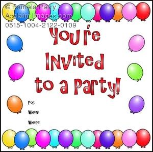 invitation clipart