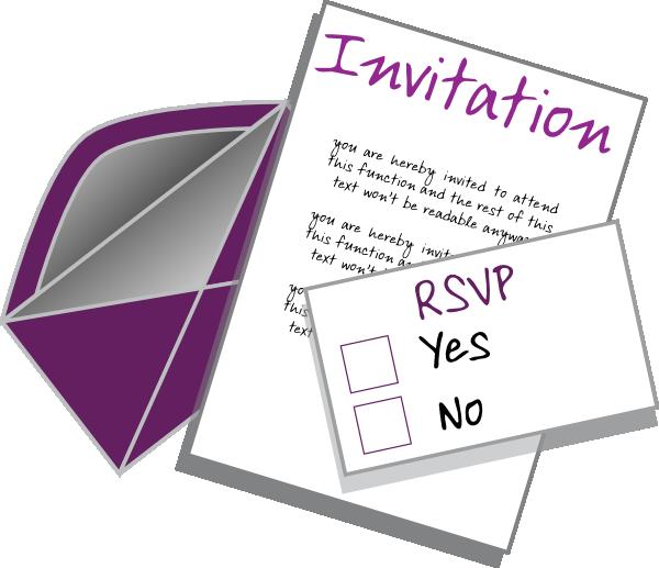 Invitation Clip Art At Clker Com Vector Clip Art Online Royalty