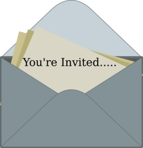 Invitation Clip Art