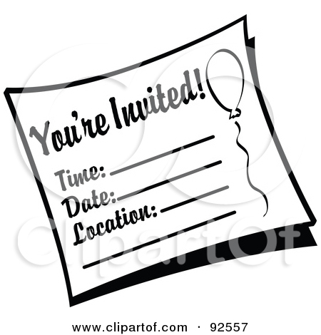 Invitation Clip Art-Invitation Clip Art-13