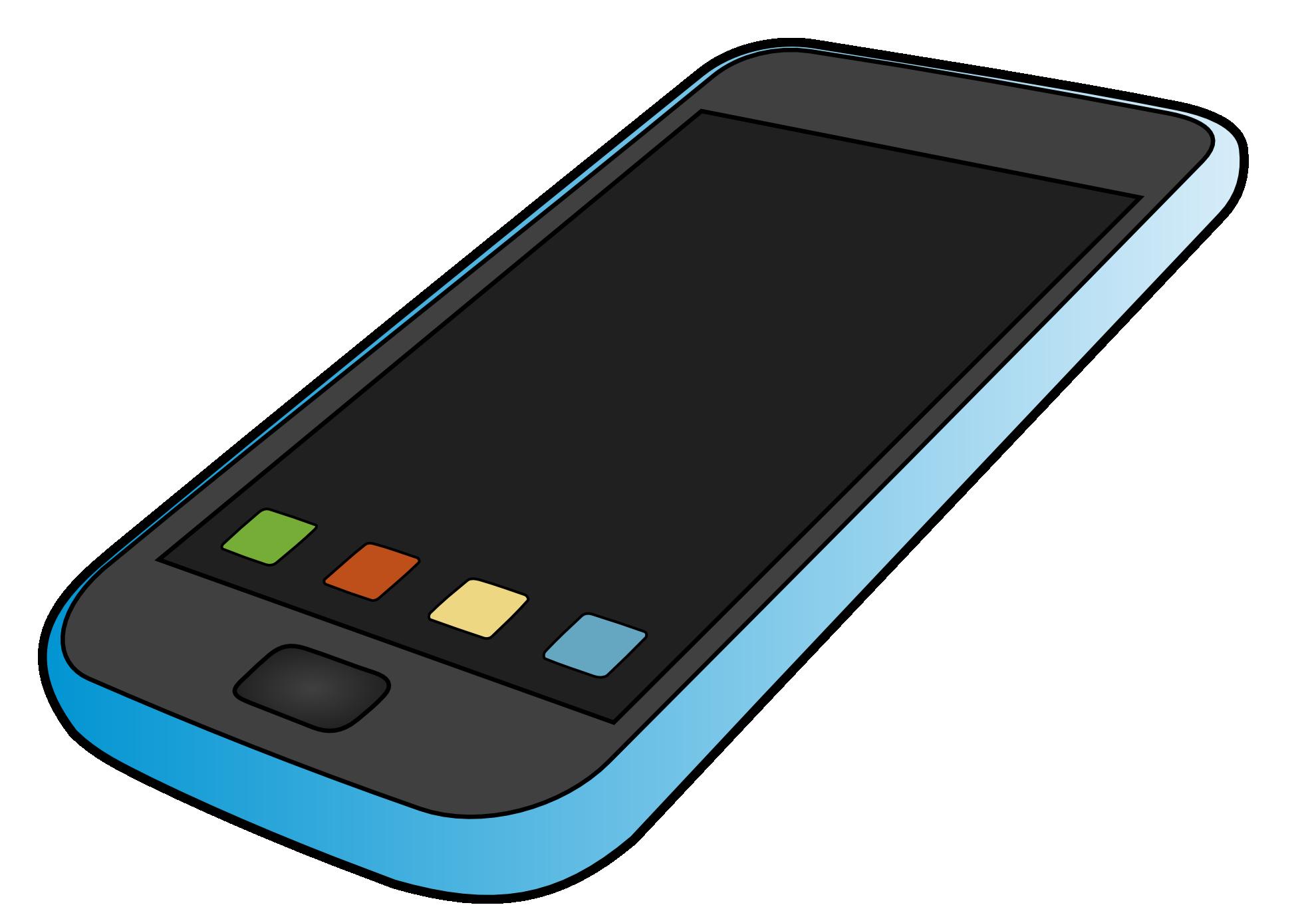Iphone Cell Phone Clipart-iphone cell phone clipart-9