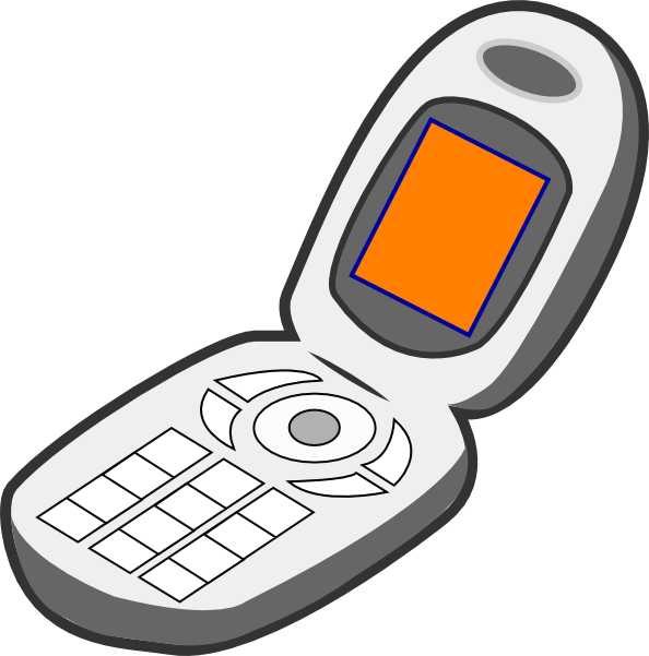 iphone cell phone clipart