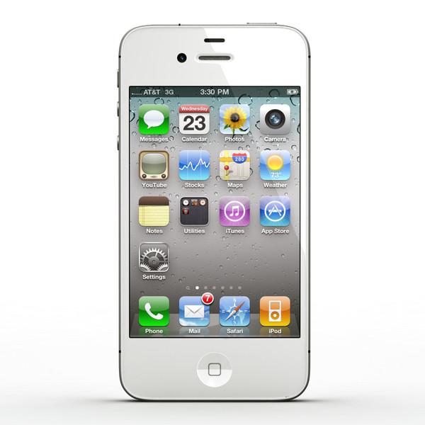 Iphone 4 Clip Art Apple Iphone 4