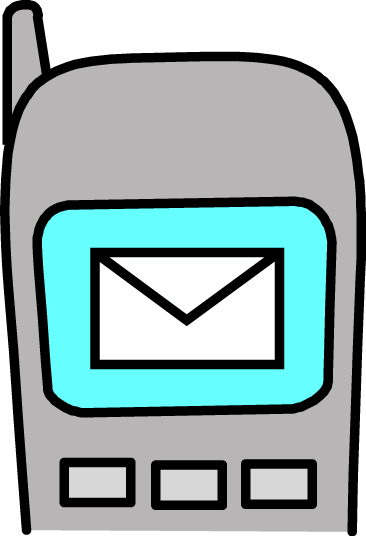 Iphone Text Message Clipart Stay Up To Date With Pto Text