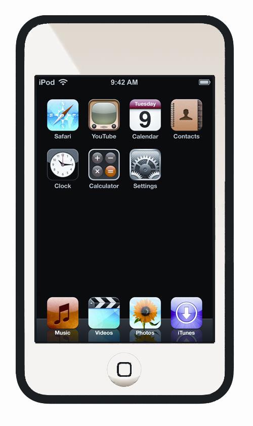 Ipods Touch White Clipart-Ipods Touch White Clipart-9