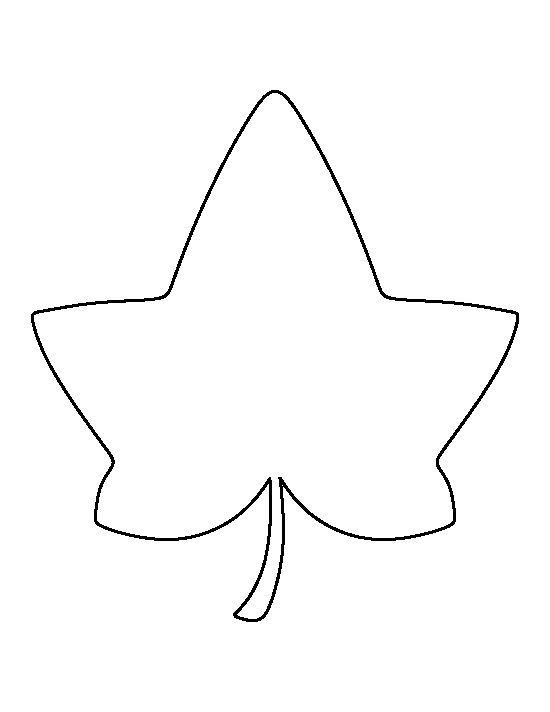 Irish ivy leaf art clipart - .-Irish ivy leaf art clipart - .-14