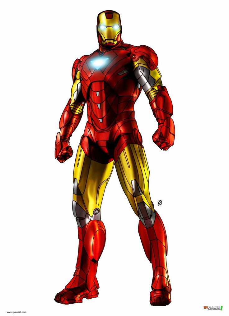 Iron Man clipart