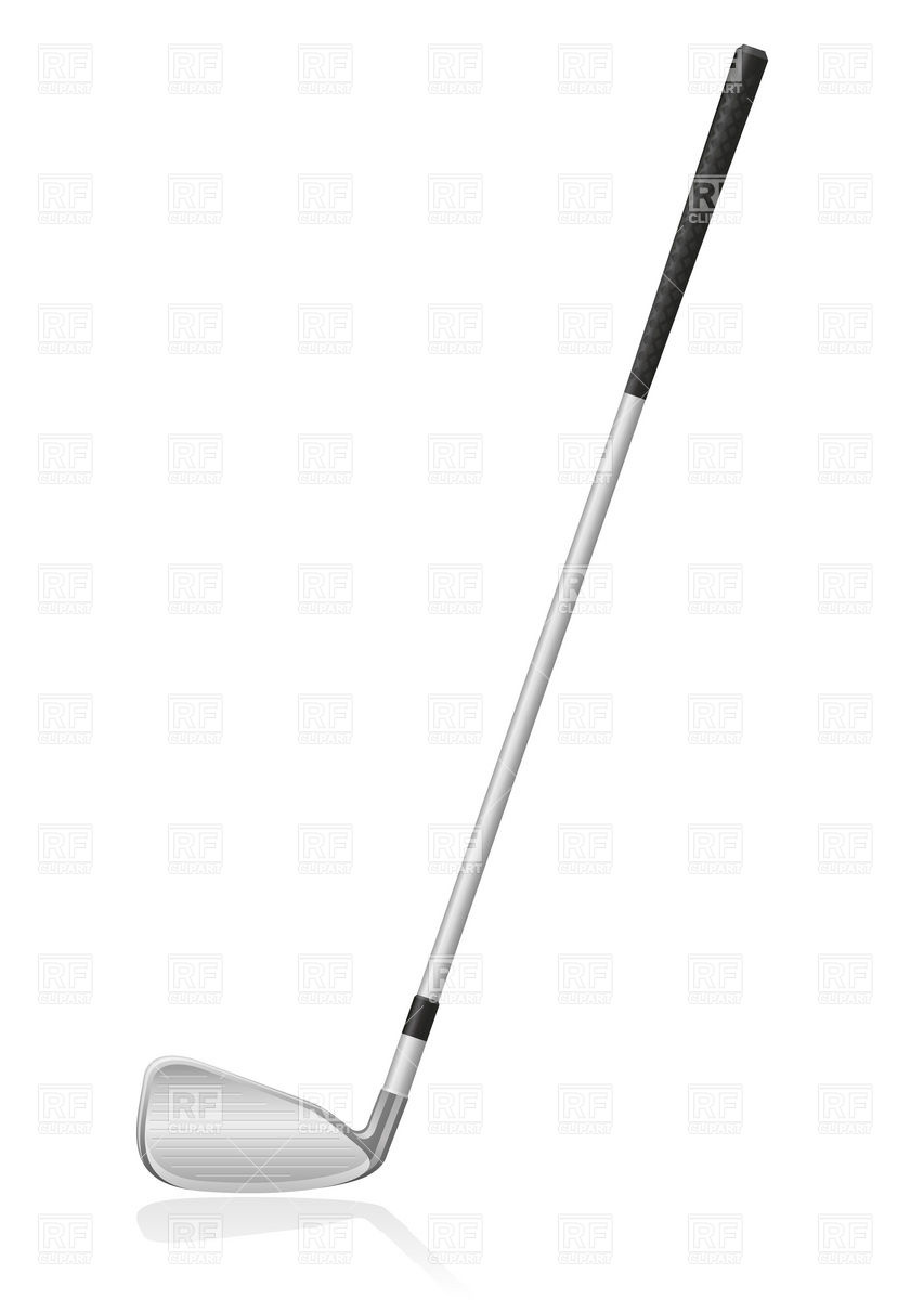 Iron Golf Club Download Royalty Free Vector Clipart Eps