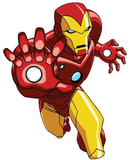 Iron Man Clipart Vector Free Clipart Images