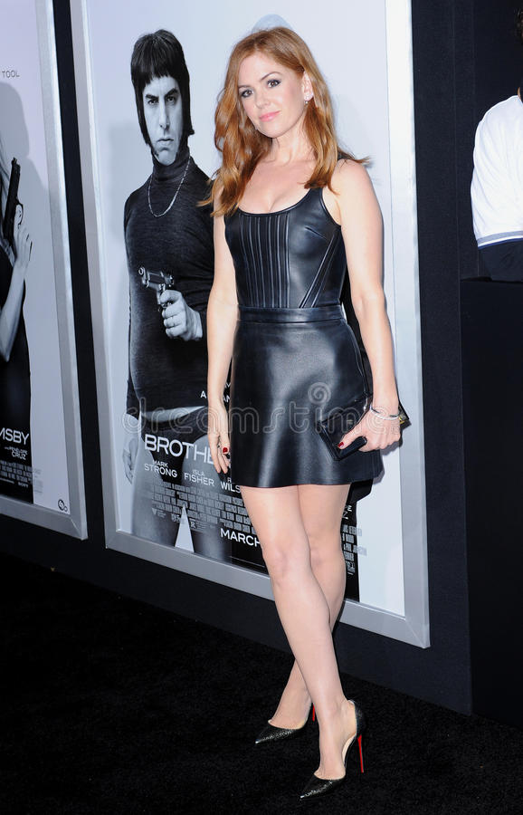 Download Isla Fisher editorial stock image. Image of film, actor - 67687409